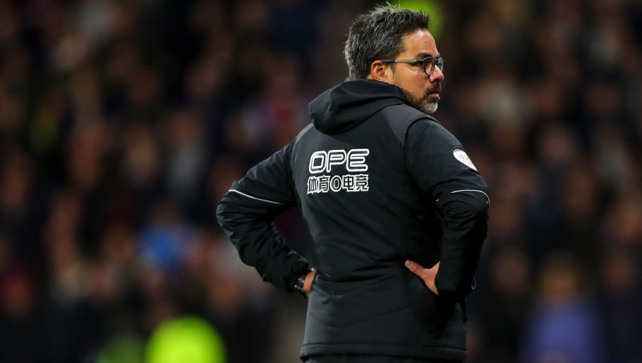 HUDDERSFIELD, ENGLAND - NOVEMBER 10: David Wagner head coach / manager of Huddersfield Town during the Premier League match between Huddersfield Town and West Ham United at John Smith's Stadium on November 10, 2018 in Huddersfield, United Kingdom. (Photo by Robbie Jay Barratt - AMA/Getty Images)