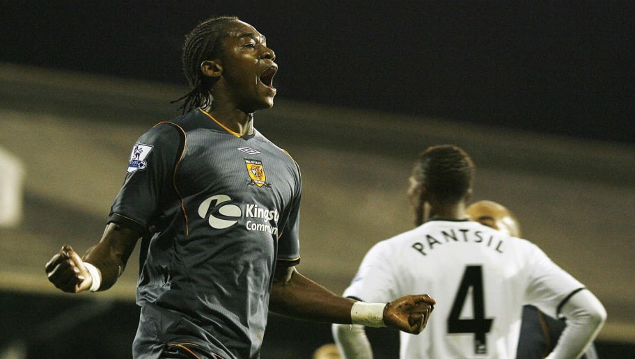 Hull City's Angolan striker Alberto Manu