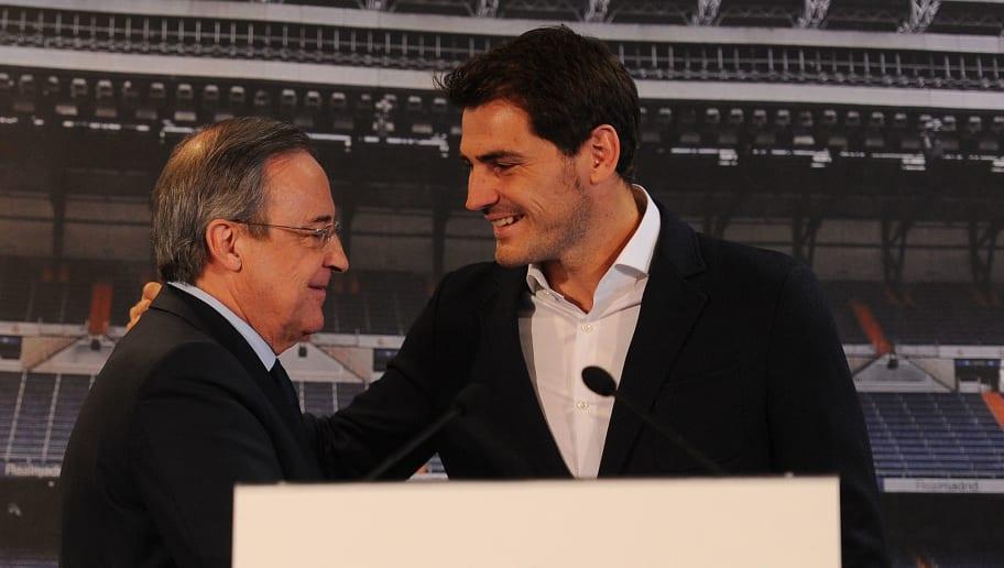 Florentino Perez,Iker Casillas