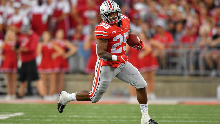 huge discount 24424 275f7 Ohio State RB Mike Weber Expected to Play Against Michigan ...