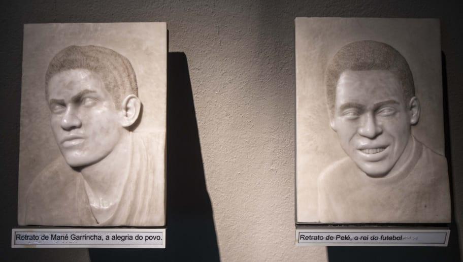 Inside of Soccer Museum In Sao Paulo