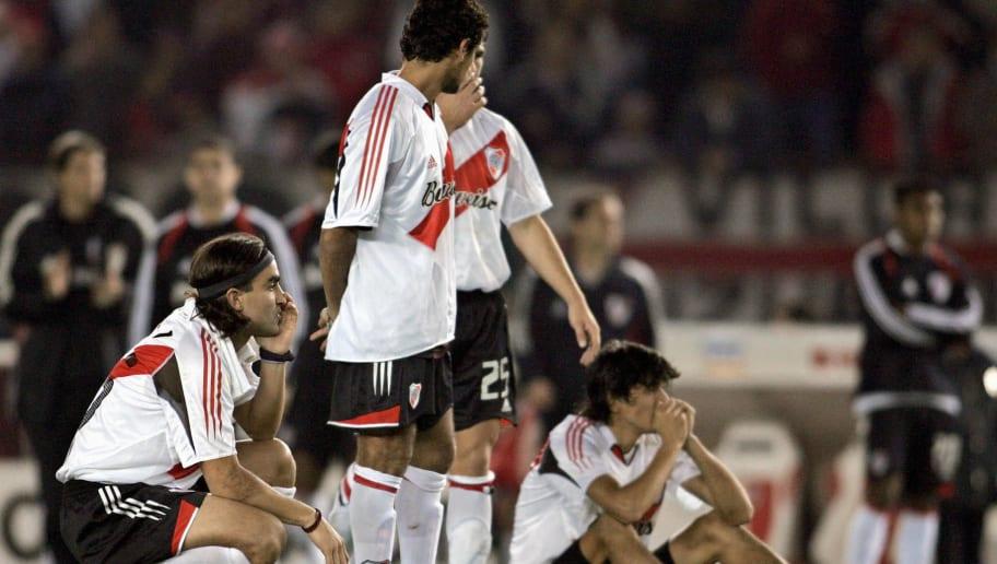 Integrantes del plantel de River Plate p