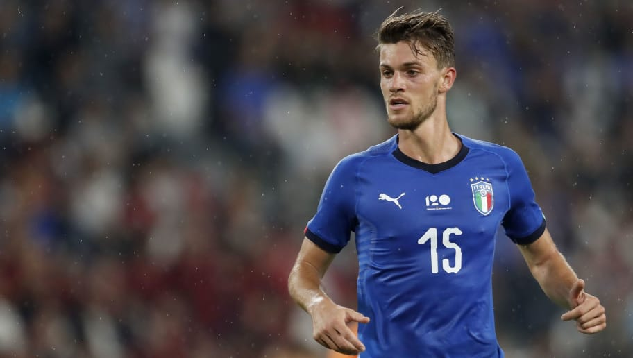 Daniele Rugani of Italy during the International friendly match between Italy and The Netherlands at Allianz Stadium on June 04, 2018 in Turin, Italy(Photo by VI Images via Getty Images)