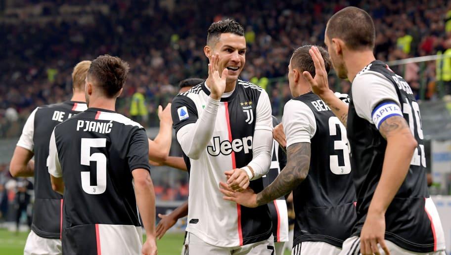 Cristiano Ronaldo,Giorgio Chiellini,Leonardo Bonucci,Miralem Pjanic
