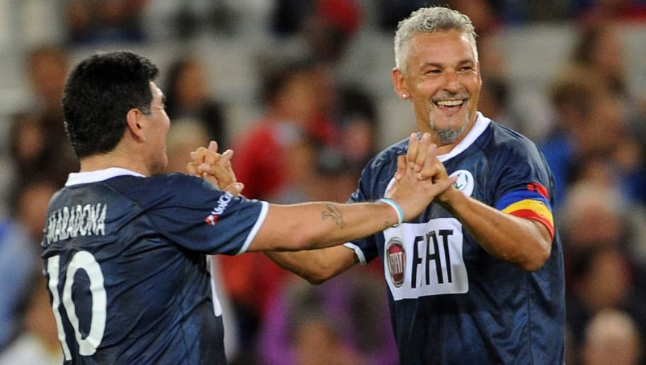 Roberto Baggio,Diego Maradona