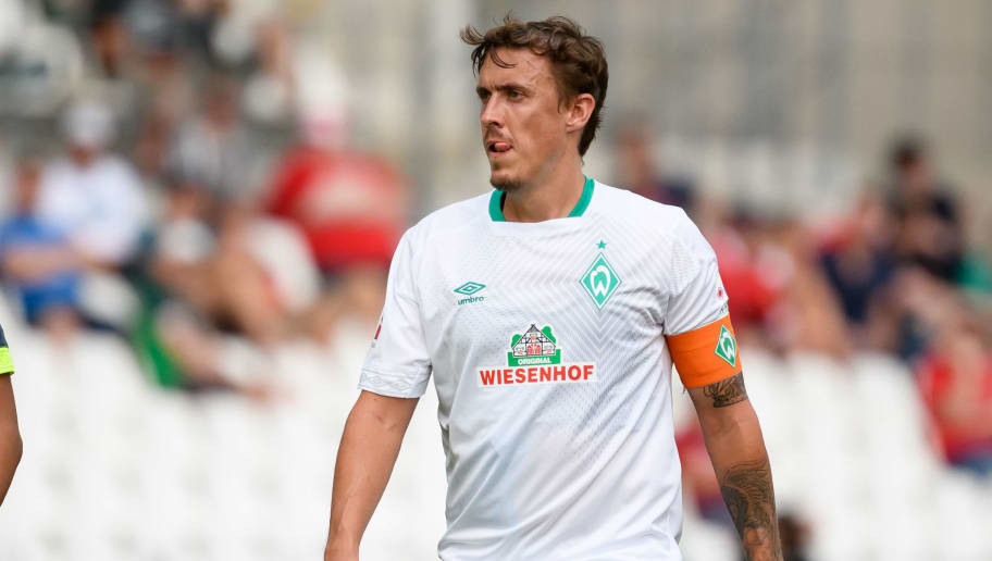 ESSEN, GERMANY - JULY 21: Max Kruse of Werder Bremen looks on during the Interwetten Cup match between SV Werder Bremen and Huddersfield Town at Stadion Essen on July 21, 2018 in Essen, Germany. (Photo by TF-Images/Getty Images)