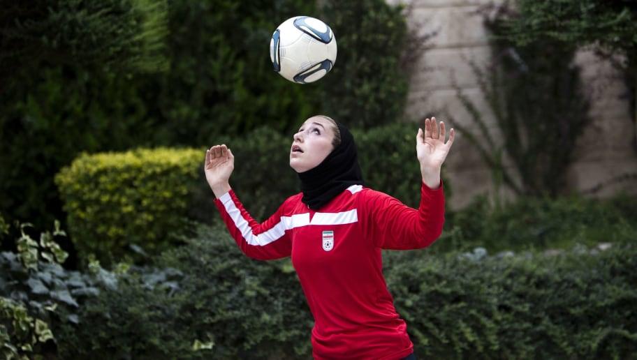 IRAN-SOCCER-WOMEN