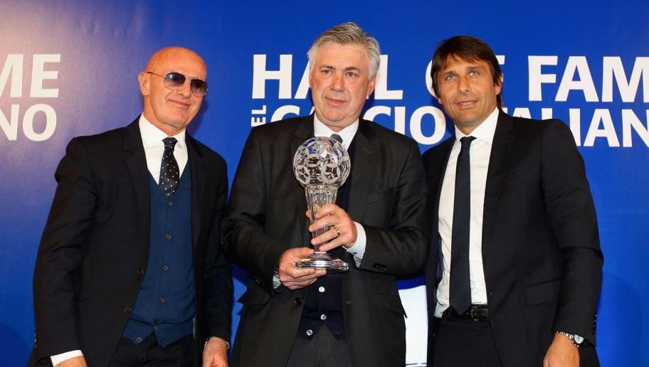 Arrigo Sacchi,Antonio Conte,Carlo Ancelotti