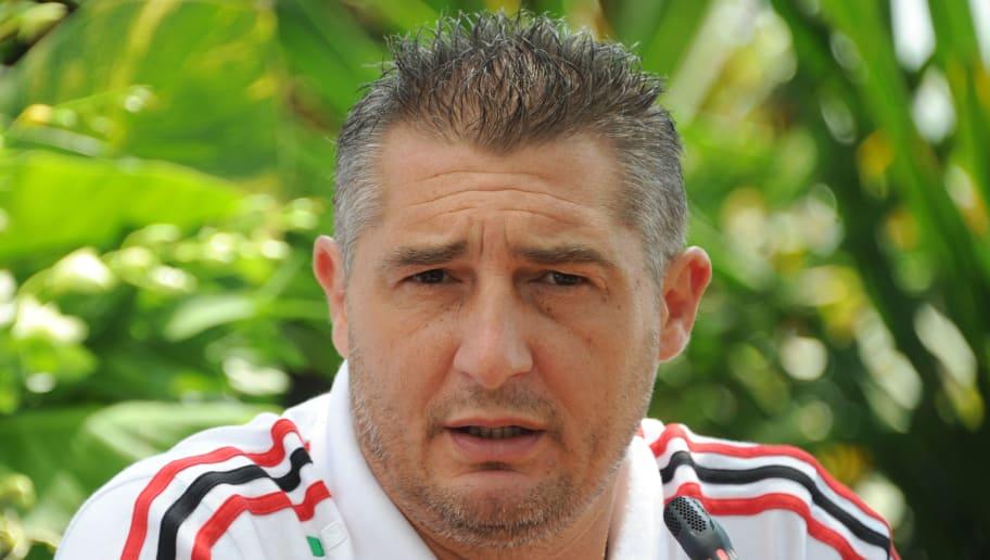 Italian football player Daniele Massaro,