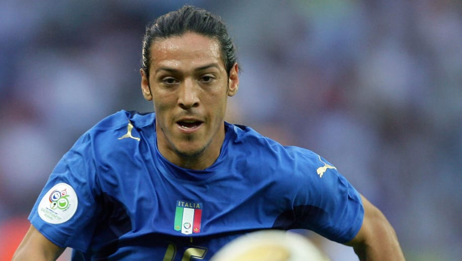 Italian midfielder Mauro Camoranesi runs