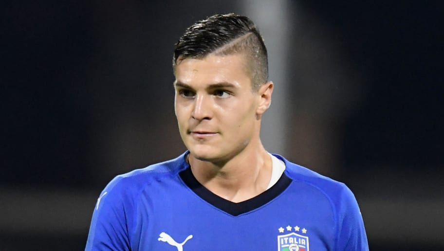 FERRARA, ITALY - OCTOBER 10: Andrea Favilli of Italy U21 looks on during the international friendly match between Italy U21 and Morocco U21 at Stadio Paolo Mazza on October 10, 2017 in Ferrara, Italy.  (Photo by Alessandro Sabattini/Getty Images)