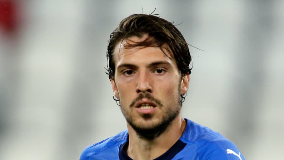 TURIN, ITALY - JUNE 4: Simone Verdi of Italy  during the  International Friendly match between Italy  v Holland  at the Allianz Stadium on June 4, 2018 in Turin Italy (Photo by Eric Verhoeven/Soccrates/Getty Images)