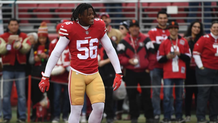 05c250a9f 49ers Linebacker Reuben Foster Diagnosed With Concussion