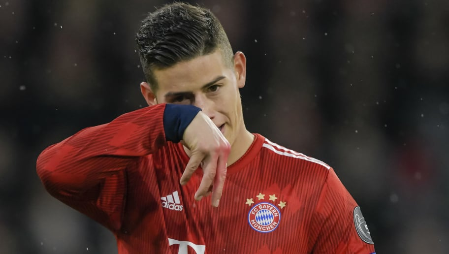 James Rodriguez Reportedly Does Not Intend on Staying at Bayern Munich