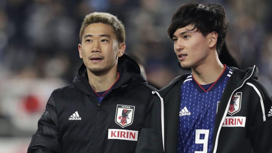 Shinji Kagawa,Takumi Minamino
