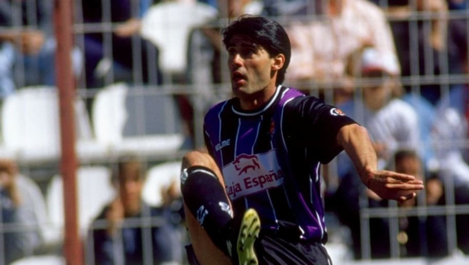 Jose Caminero of Real Valladolid