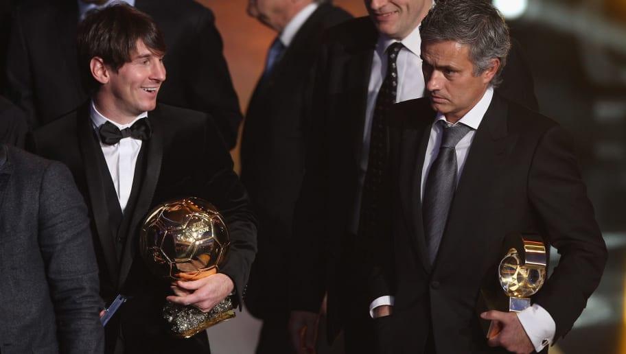 Jose Mourinho,Lionel Messi