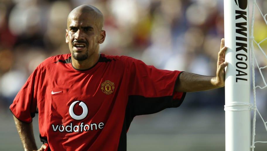 Juan Sebastian Veron of Manchester United