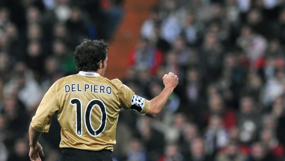 Juventus' Alessandro Del Piero celebrate
