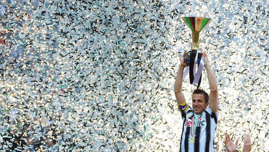 Juventus' forward Alessandro Del Piero h