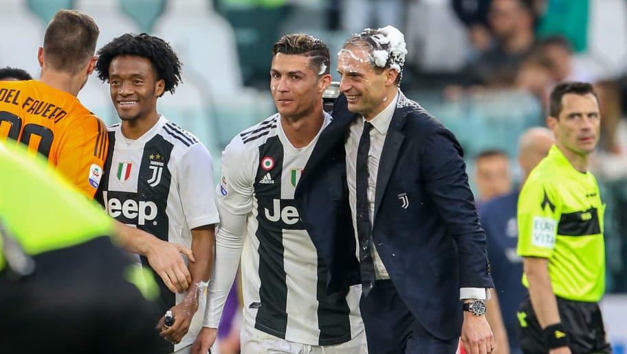 Massimiliano Allegri,Cristiano Ronaldo