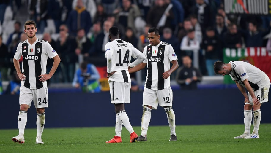 Juventus V Ajax Uefa Champions League Quarter Final Second Leg