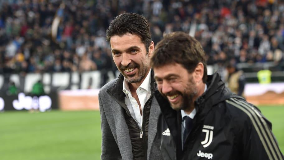 Gianluigi Buffon,Andrea Agnelli