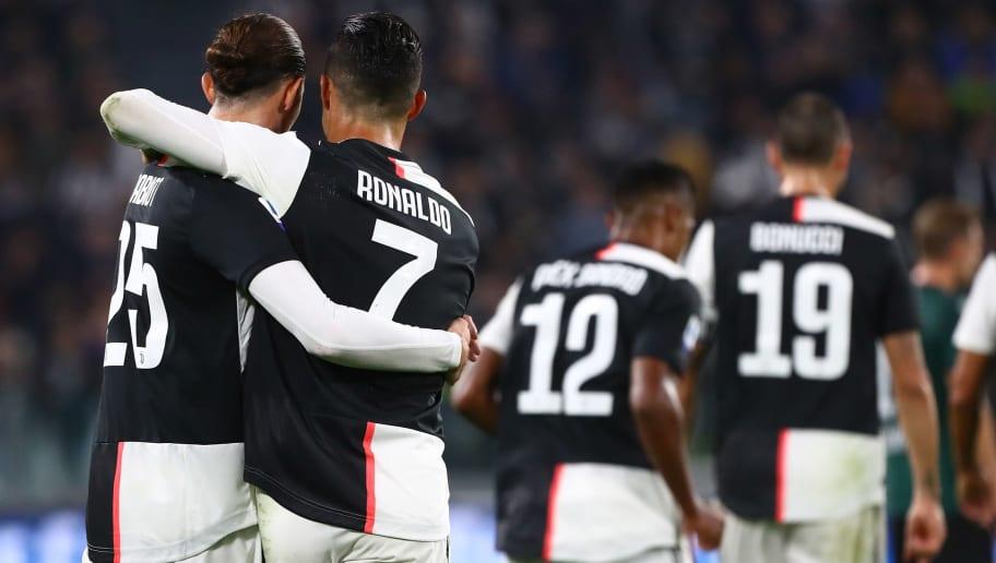Cristiano Ronaldo,Adrien Rabiot