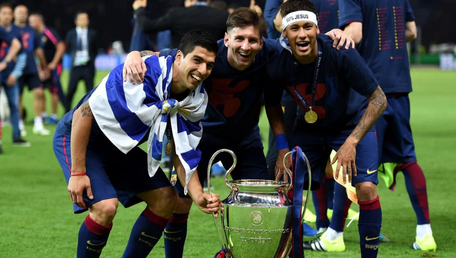 Luis Suarez,Lionel Messi,Neymar