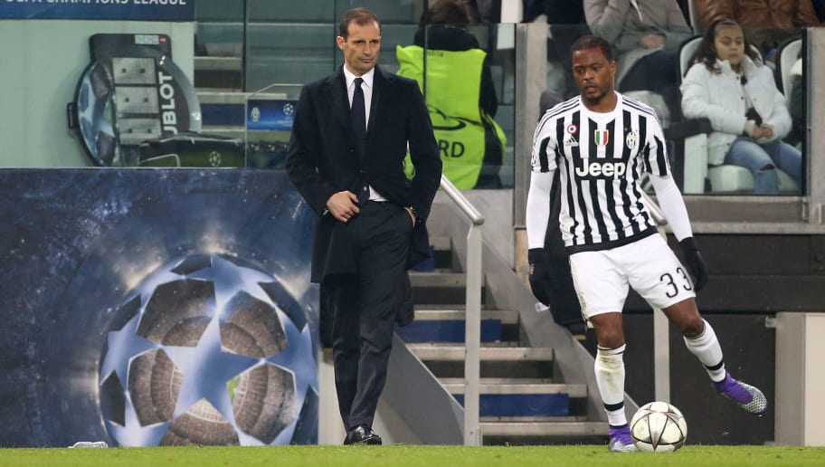 Massimiliano Allegri Eyes Reunion With Patrice Evra If He Takes Over at Manchester United