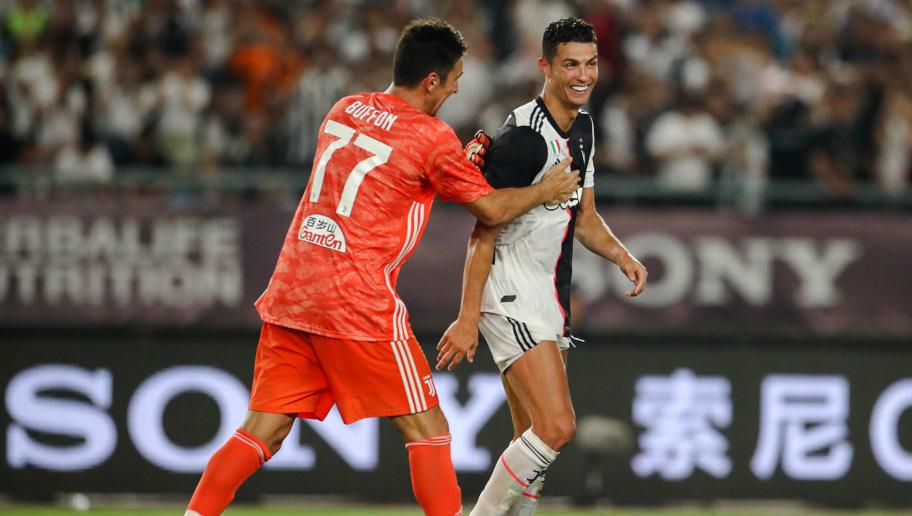 Gianluigi Buffon,Cristiano Ronaldo