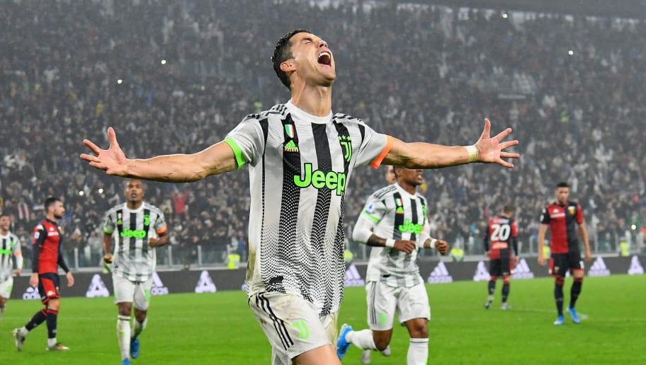 Hasil gambar untuk Genoa Ronaldo Juventus