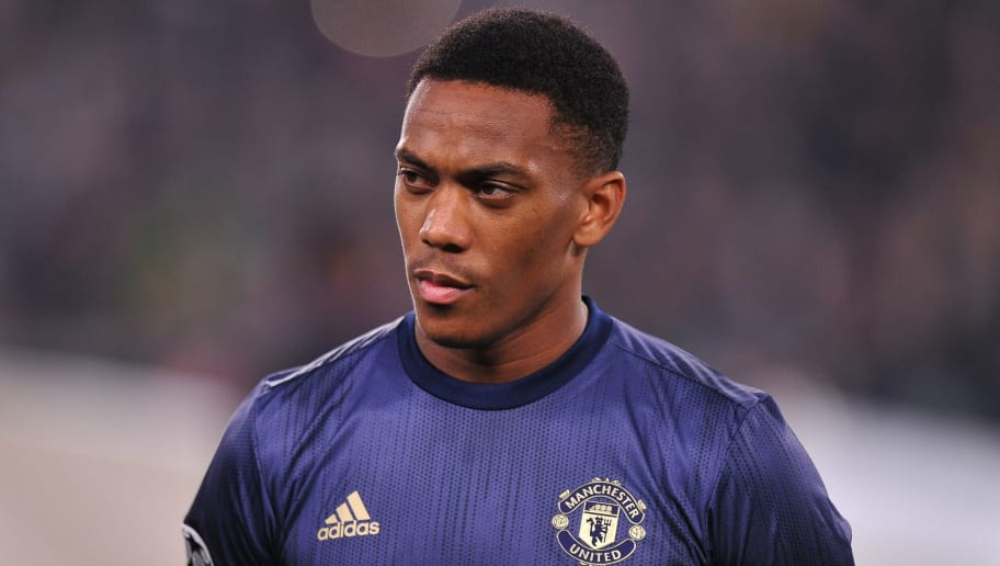 TURIN, ITALY - NOVEMBER 07: Anthony Martial of Manchester United looks on during the Group H match of the UEFA Champions League between Juventus and Manchester United at  on November 7, 2018 in Turin, Italy. (Photo by Norbert Barczyk/PressFocus/MB Media/Getty Images)