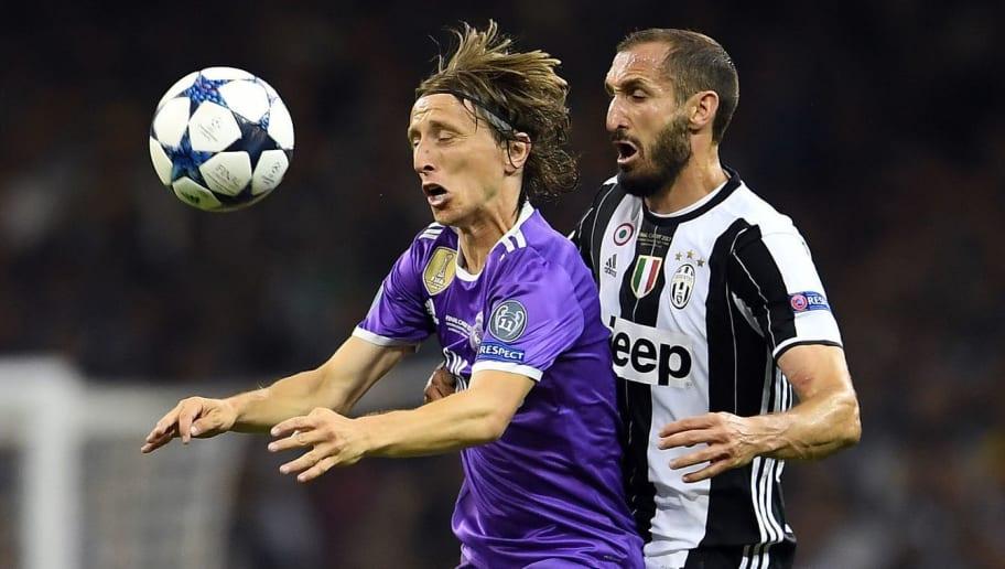 Luka Modric,Giorgio Chiellini