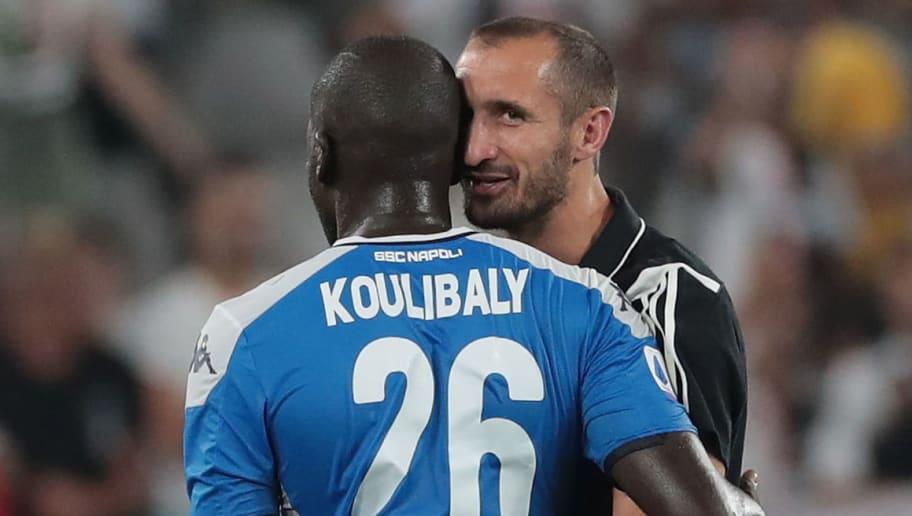 Giorgio Chiellini,Kalidou Koulibaly