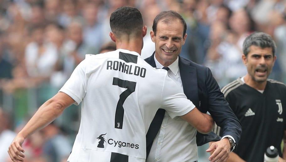 Cristiano Ronaldo,Massimiliano Allegri