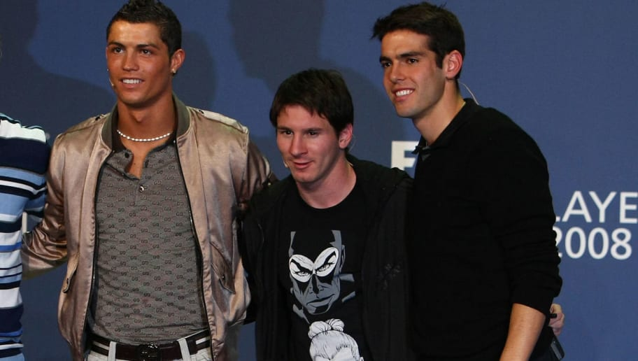 Kaka Reveals His Ballon d'Or Pick and Its Neither Cristiano Ronaldo Nor Lionel Messi