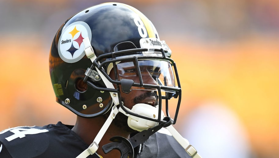 PITTSBURGH, PA - SEPTEMBER 16: Antonio Brown #84 of the Pittsburgh Steelers in action during warmups before the game against the Kansas City Chiefs at Heinz Field on September 16, 2018 in Pittsburgh, Pennsylvania. (Photo by Joe Sargent/Getty Images)
