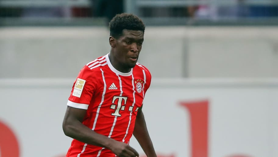 OFFENBACH, GERMANY - AUGUST 30: Kwasi Wriedt of Muenchen controles the ball during a friendly match between Kickers Offenbach and FC Bayern Muenchen at Sparda-Bank-Hessen-Stadion on August 30, 2017 in Offenbach, Germany.  (Photo by Alex Grimm/Bongarts/Getty Images)