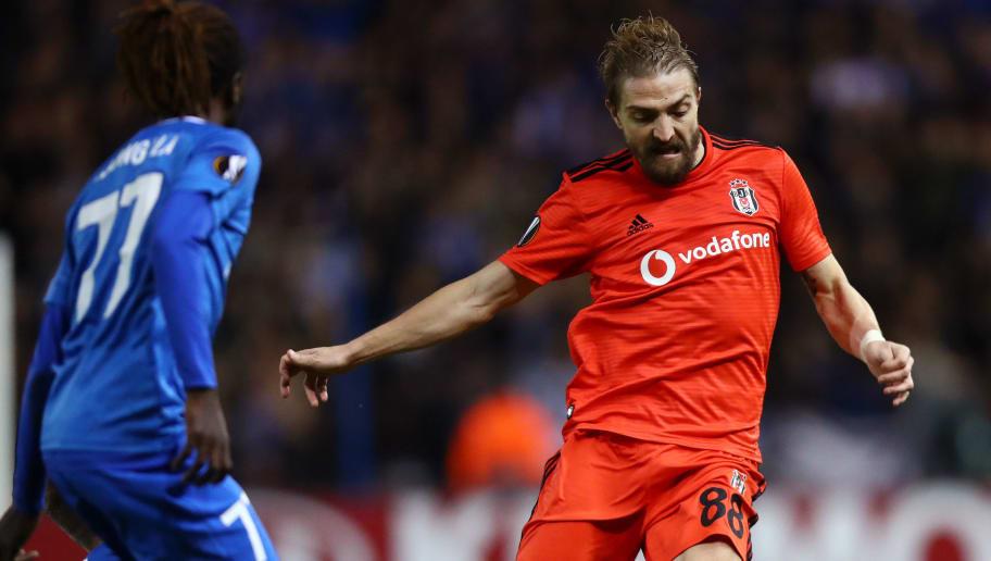 Caner Erkin, Beşiktaş'tan Ayrılmak İstediği Yönündeki Haberleri Yalanladı