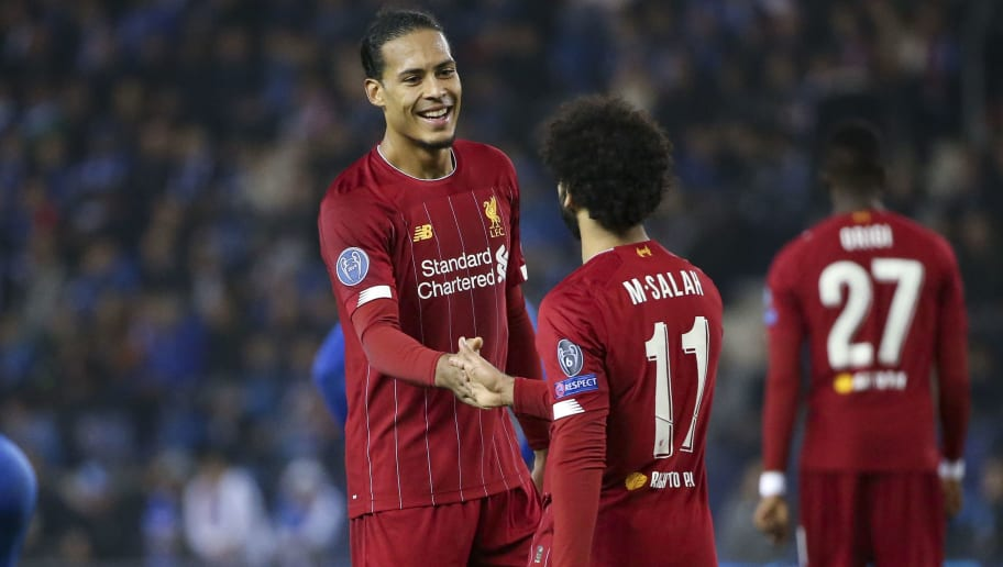 Mohamed Salah,Virgil Van Dijk