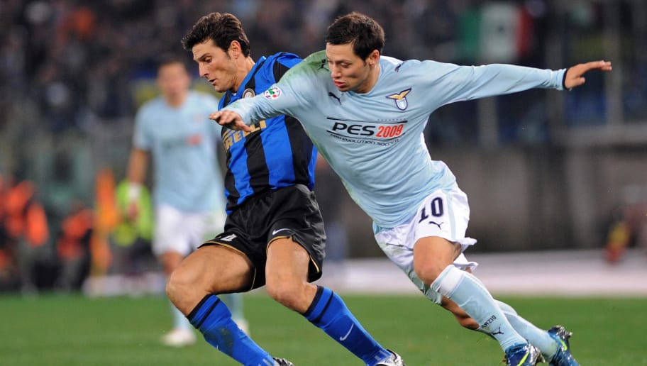 Lazio's Argentine forward Mauro Matias Z