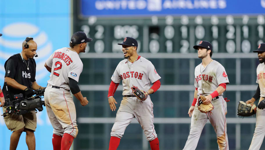 36e4de8edfc2a Red Sox Push Astros to the Brink With Wild Game 4 Victory