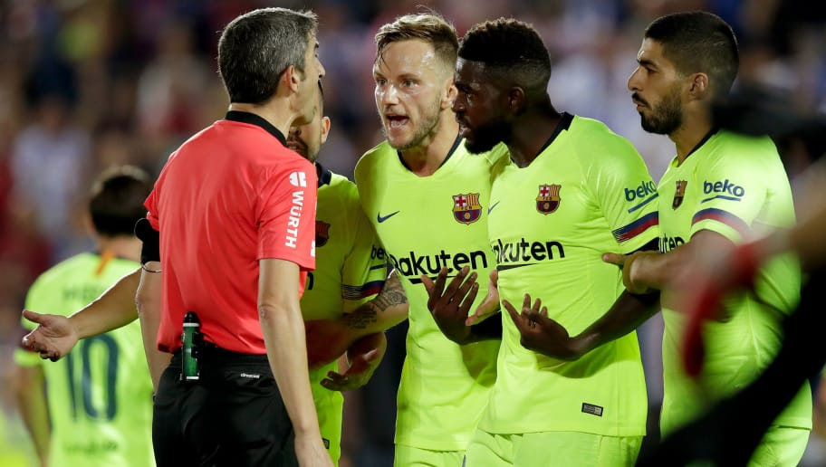 435962e24dd Leganes 2-1 Barcelona: Report, Ratings & Reactions as La Blaugrana Crash to  Disappointing Defeat