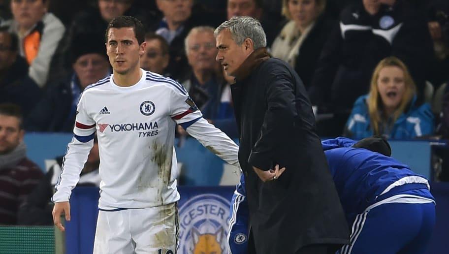 Eden Hazard,Jose Mourinho