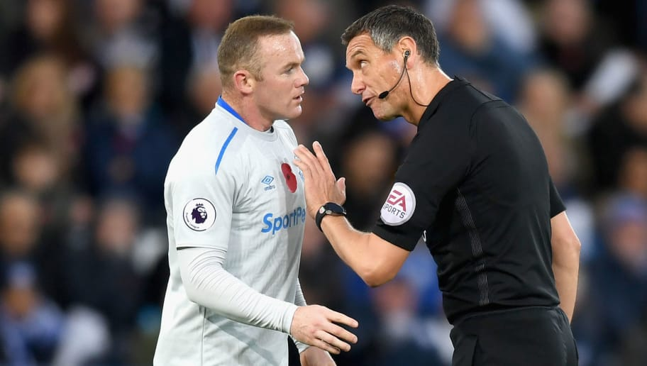 Andre Marriner,Wayne Rooney