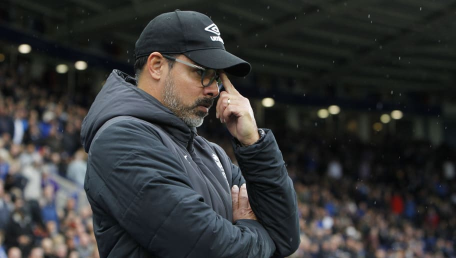 LEICESTER, ENGLAND - SEPTEMBER 22: David Wagner the manager of Huddersfield Town during the Premier League match between Leicester City and Huddersfield Town at The King Power Stadium on September 22, 2018 in Leicester, United Kingdom. (Photo by Ben Early/Getty Images)