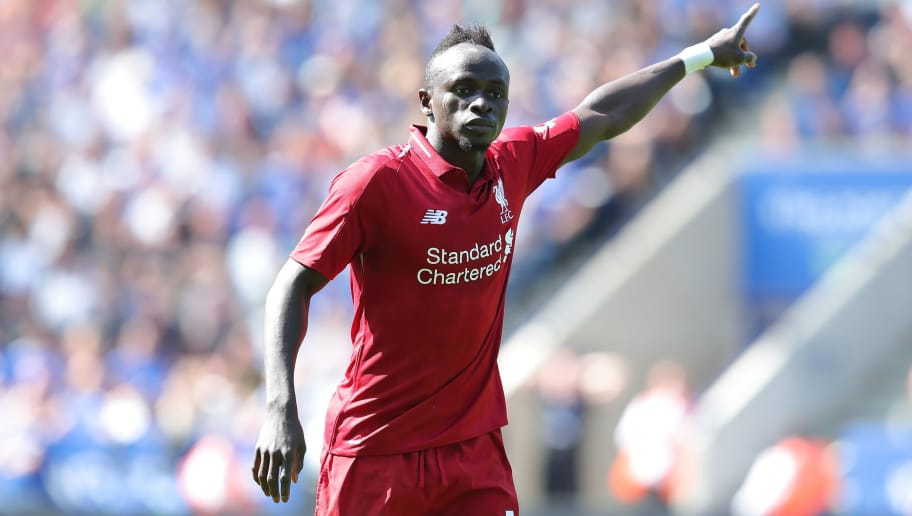 LEICESTER, ENGLAND - SEPTEMBER 01: Sadio Mane of Liverpool during the Premier League match between Leicester City and Liverpool FC at The King Power Stadium on September 1, 2018 in Leicester, United Kingdom. (Photo by James Williamson - AMA/Getty Images)