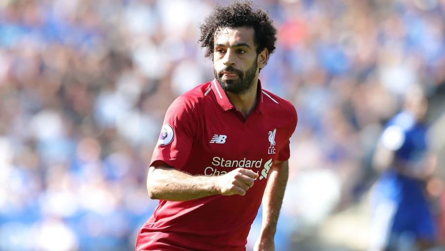 LEICESTER, ENGLAND - SEPTEMBER 01: Mohamed Salah of Liverpool during the Premier League match between Leicester City and Liverpool FC at The King Power Stadium on September 1, 2018 in Leicester, United Kingdom. (Photo by James Williamson - AMA/Getty Images)