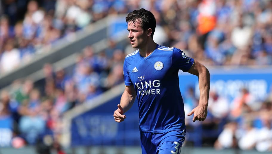 LEICESTER, ENGLAND - SEPTEMBER 01: Ben Chilwell of Leicester City during the Premier League match between Leicester City and Liverpool FC at The King Power Stadium on September 1, 2018 in Leicester, United Kingdom. (Photo by James Williamson - AMA/Getty Images)
